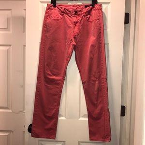 Vineyard Vines Men's Red 5 Pocket 32x32